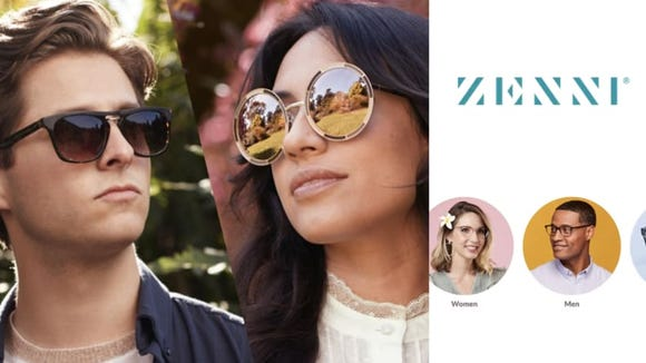 Trendy frames at great prices.