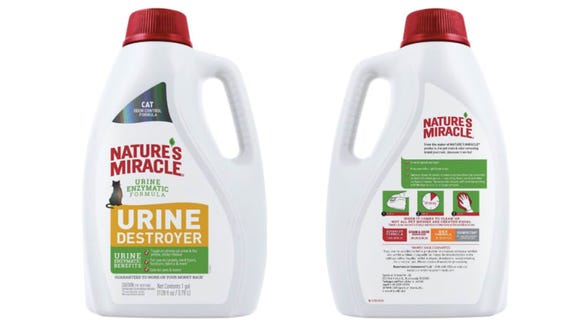This powerful odor remover is the unstoppable force you need to take on cat pee (one of the world's most unmovable objects)