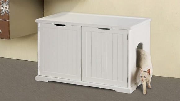 It's about time litter boxes start pulling their weight as fashionable decor