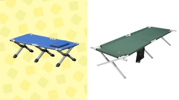You'll be glad you invested in this cot next time you go camping.