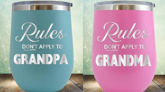 These tumblers help lay down the law—or lack thereof, for grandparents.