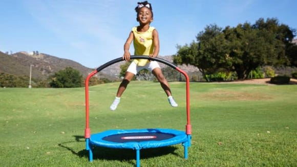 Best gifts and toys for 2-year-olds: Little Tikes trampoline