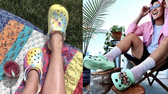 Crocs > sandals this summer.