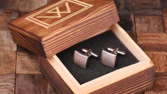 The best gifts for men: Monogram Cufflinks