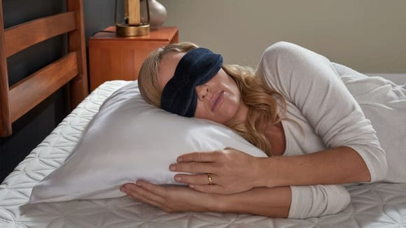 Reviewers say not one sliver of light gets through this fantastic sleep mask
