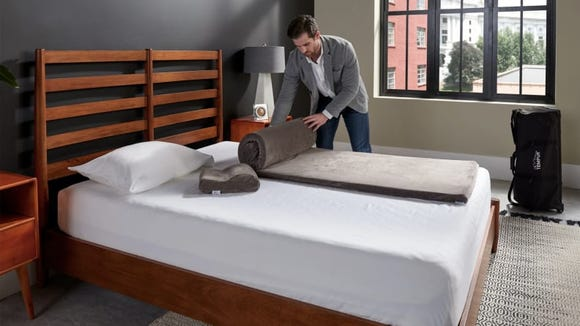 A Tempur-Pedic mattress overlay would be an amazing gift for a college student making do with a dorm bed
