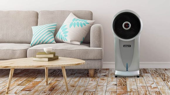 Evaporative coolers aren't your typical air conditioner units.