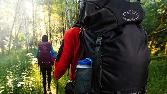 Amazon sells top outdoor brands like Osprey.