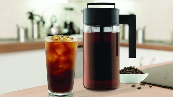 People swear by this affordable cold brew maker.