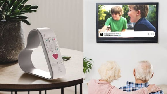 This gadget lets you stream photos to someone else's TV.