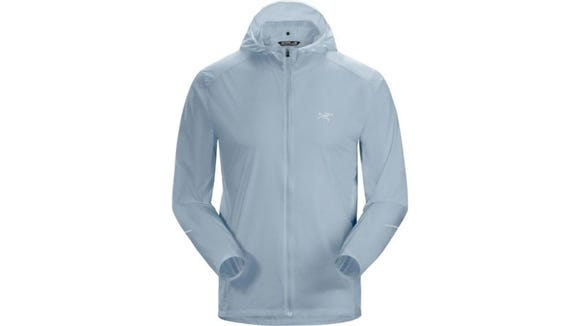 This amazing hoodie will keep you dry and cool on a nice run.