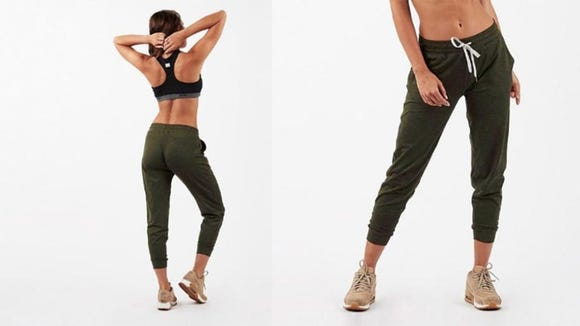 These joggers are trendy and practical.