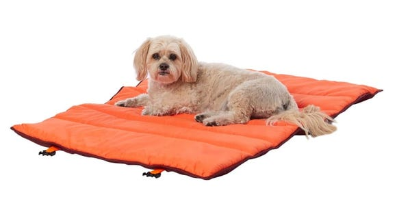 Give your dog their own comfy bed while camping or hiking.