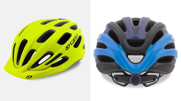 Keep your noggin safely encased in this Giro helmet.