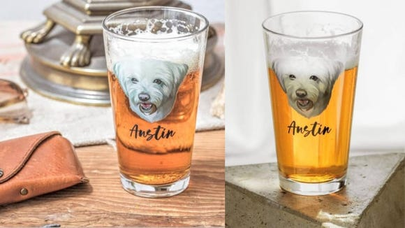 Don't share any of the beer with your pup, though.