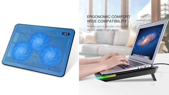 This pad will keep both your laptop and your wrists happy.