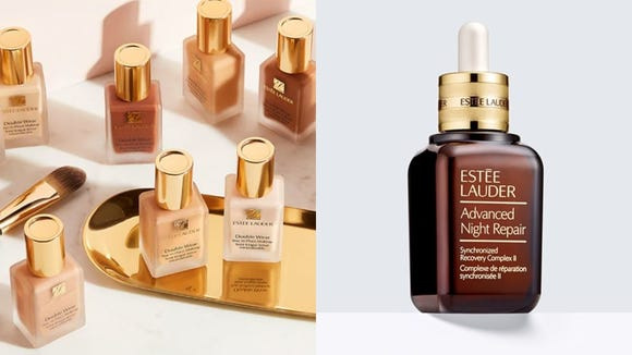 If you've never tried Estée Lauder products, start with their beloved Double Wear Foundation or the Advanced Night Repair serum.