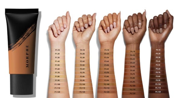 Not need of foundation? Morphe has dozens of eyeshadow palettes to choose from.