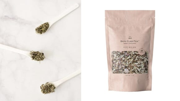 Sipping any cup of tea can be soothing, but this one does double-duty as a skin-clearing product