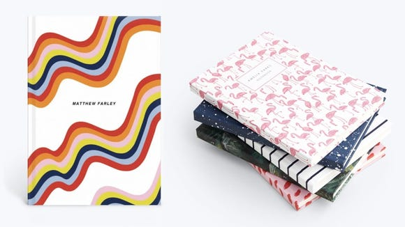 These notebooks come in enough designs to match with any personality