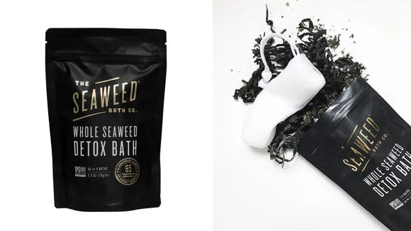 With this pure seaweed soak, you'll bring a bit of the seashore into your home