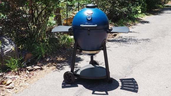 This kamado grill beat out far more expensive models when it came to its performance.