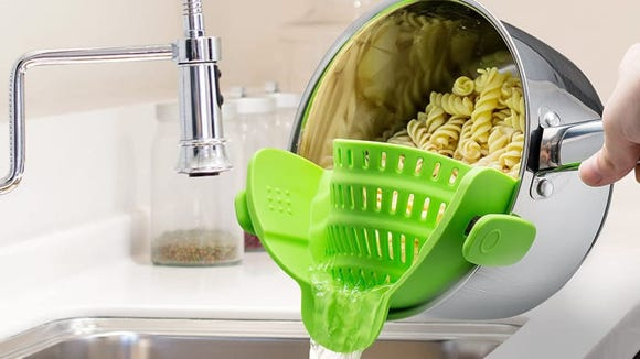 A game-changing strainer.