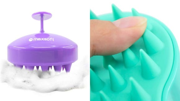 You can deep clean your scalp with this inexpensive massager.