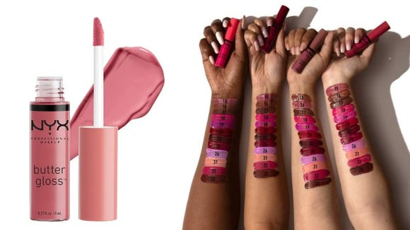 The Butter Lip Gloss comes in a variety of flattering shades.