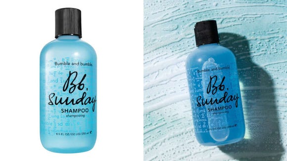 Got oily strands? Try the Bumble and Bumble Sunday Clarifying Shampoo.