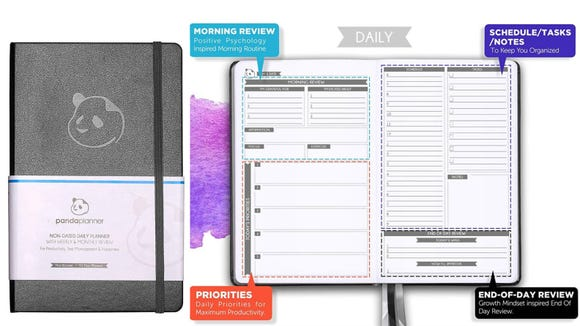 Stay organized with this undated planner.