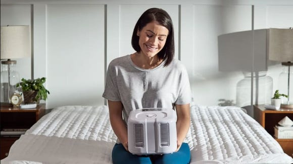 The Chilipad can take your overnight comfort to the next level by cooling your entire bed.