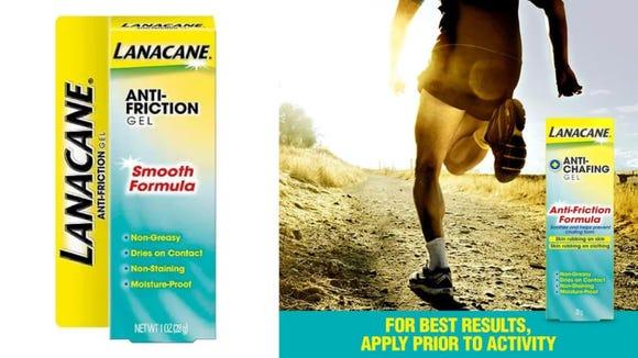 Lanacane anti-friction gel