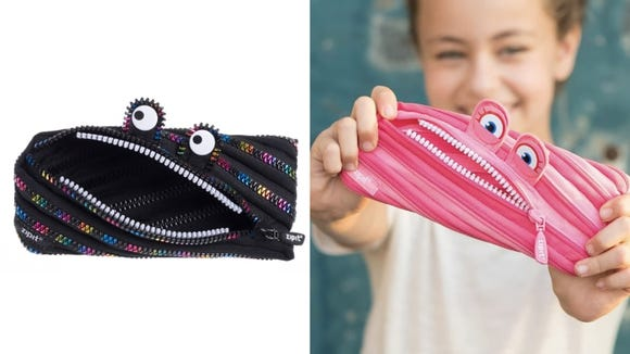 Pencil cases don't have to be boring.