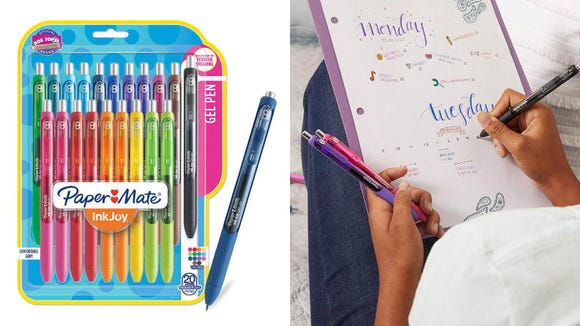 Write the rainbow with these pretty pens.