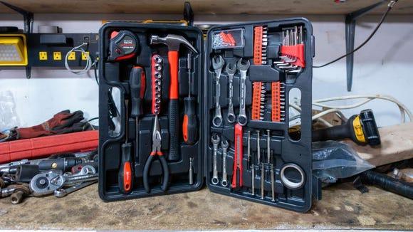 This all-encompassing kit has everything you'll need to start building your tool collection.