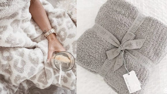 Best gifts for sisters 2020: Barefoot Dreams Throw Blanket