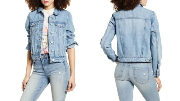 A jean jacket is the perfect summer layer.