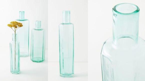 A vase is a crystal-clear design choice.