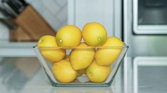 Even though they're unscented, the mere sight of citrus evokes a lovely feeling.