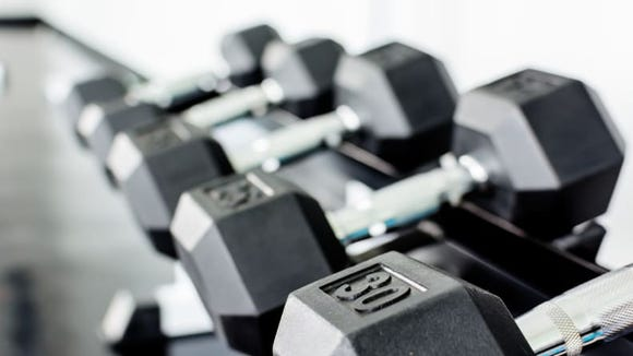 Weights are a hot commodity right now.