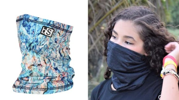 Gaiters are a popular alternative to face masks.