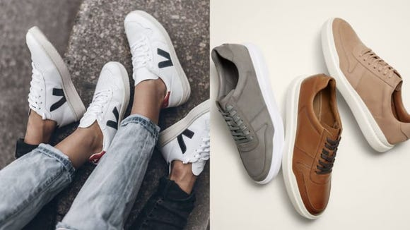 Slip into something comfortable, like a pair of these sneaks.