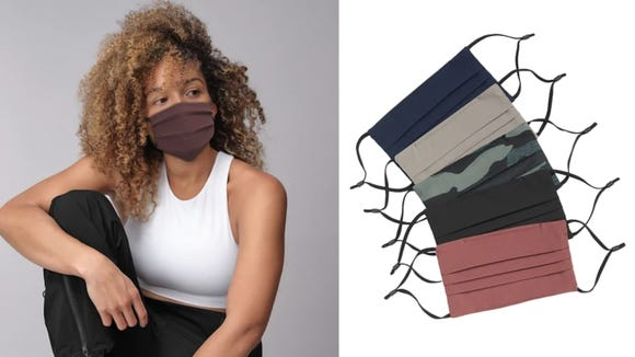 These masks from Athleta are the best ones we've ever tested.