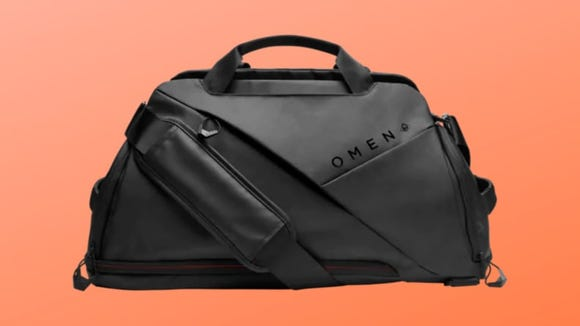 This duffel bag is perfect for carrying just about anything you could think of.