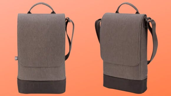 This bag is built for laptops.