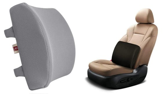 You can also use the pillow on your desk chair or couch.