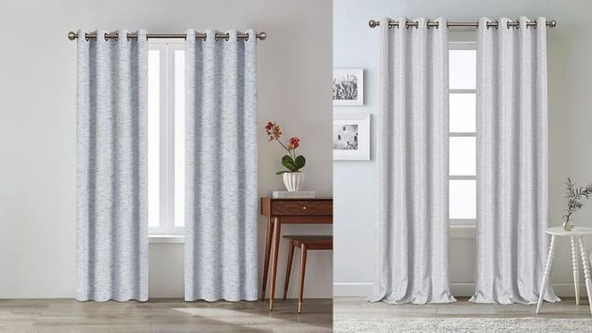 Curtains go in your bedroom, bathroom, and anywhere else there are windows.