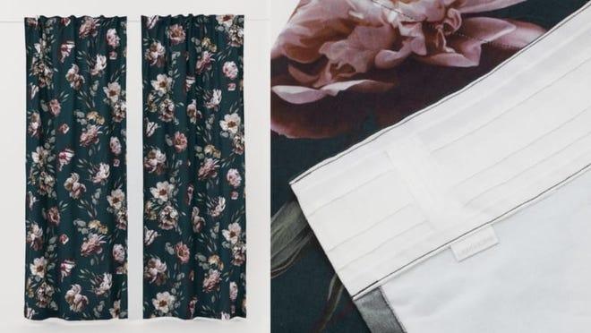 Fast fashion but make it curtains.