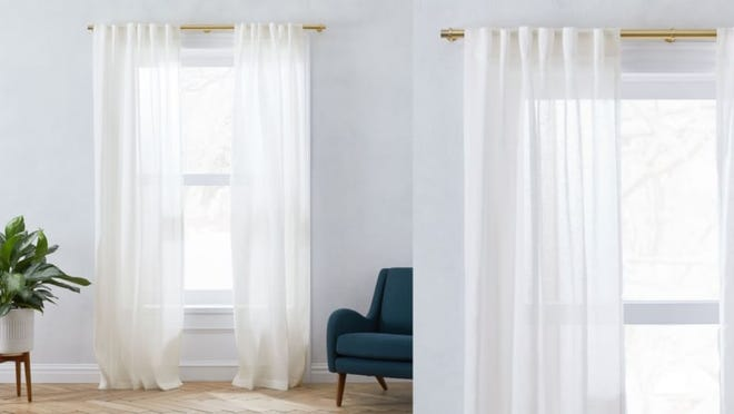 Curtains that are far from a nightmare on Elm Street.
